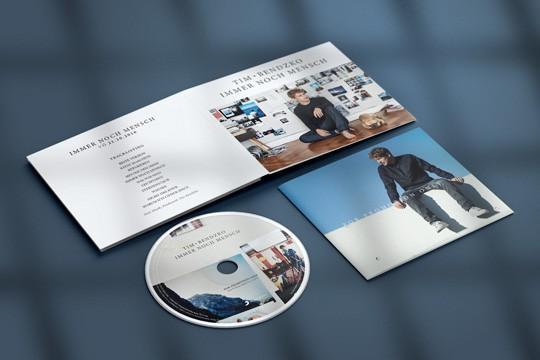Kreuzfolder Promo CD-Verpackung | Promo digipack CD